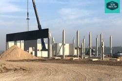 Calais Truckstop : reprise du chantier de construction