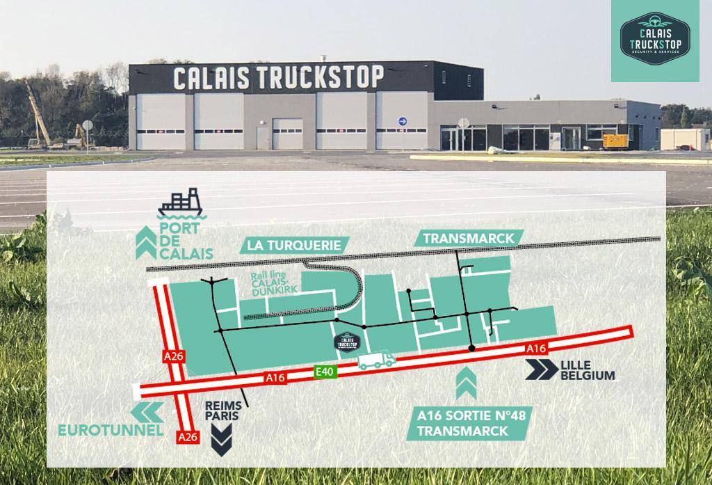 Calais TruckStop: au cœur d'une zone multimodale