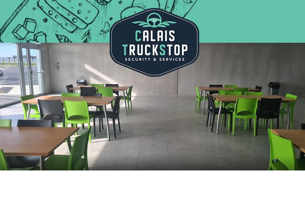 Truck drivers : take your break at Calais TruckStop