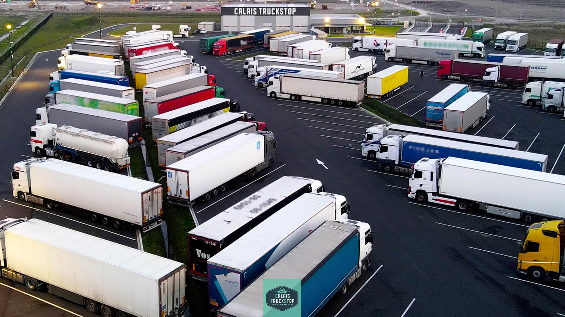 Notre objectif : fournir à vos conducteurs routiers et à leur chargement un parking sécurisé